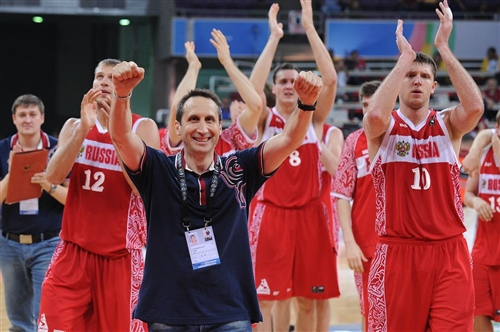 Russia and head-coach David BLATT qualify for the Olympic Games
