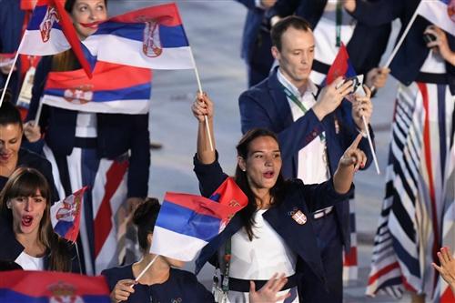 Team Serbia - Opening Ceremony