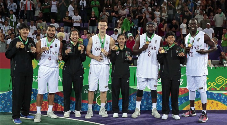 Qatar, Thailand win Gold at 3x3 event of Asian Indoor and Martial Art Games