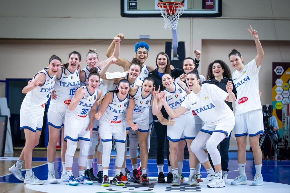 EuroBasket Women 2021, Azzurre nel girone B, a Valencia, con Serbia, Montenegro e Grecia