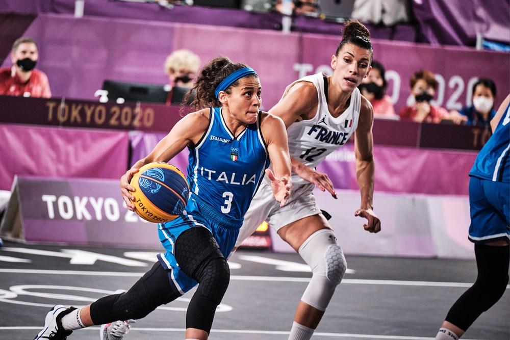 Tokyo 2020, 3×3: strepitosa Rae Lin D'Alie, l'Italia batte la Romania 22-14