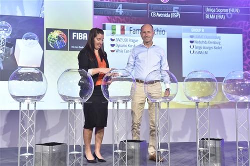 EuroLeague Women 2016/17 Draw