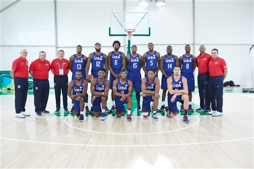 Team USA team photo
