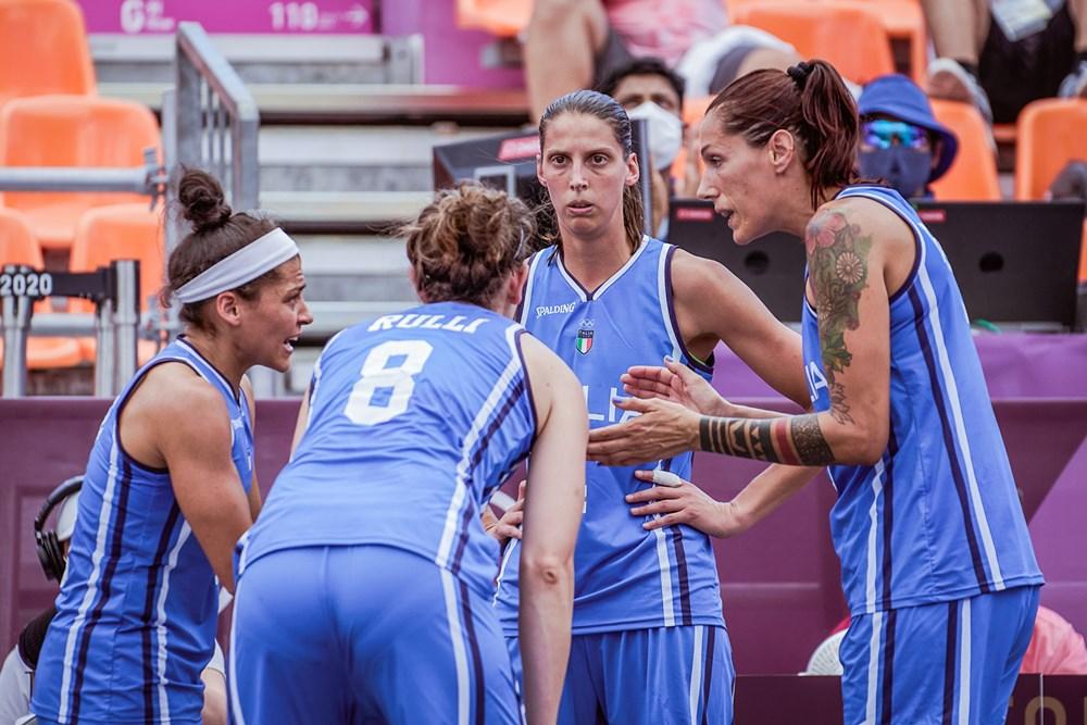 Tokyo 2020, 3×3: Italia battuta nella quarta partita, la Cina vince 22-13