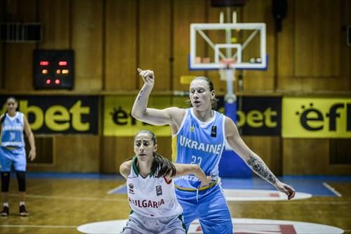 23 Alina Iagupova (UKR), 1 Viktoriya Stoycheva (BUL)