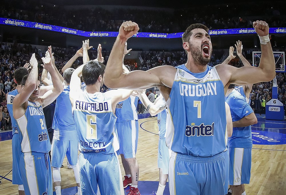 Image result for uruguay vs puerto rico antel arena