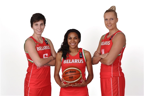 Katsiaryna SNYTSINA, Lindsey HARDING & Yelena LEUCHANKA (Belarus)