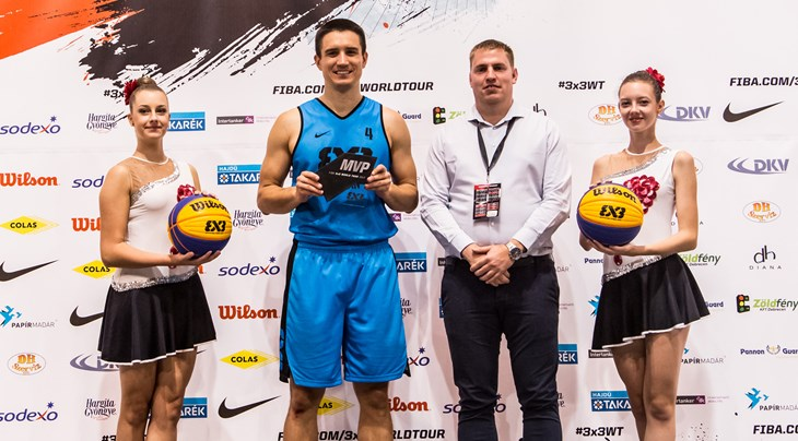 MVP Stojacic tops all scorers at FIBA 3x3 World Tour Debrecen Masters 2017