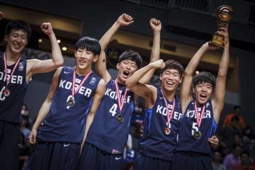 9 Myeongjin SEO (Korea); 4 Minchae PARK (Korea); 3 Sechan SEOMOON (Korea); 5 Dong Jun KIM (Korea)