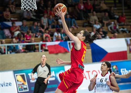 Angela SALVADORES (Spain), Most Valuable Player (MVP) of the 2014 FIBA Women's World Championship.