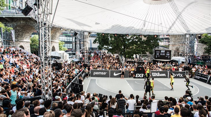 Tickets go on sale for FIBA 3x3 World Tour Lausanne Masters 2019