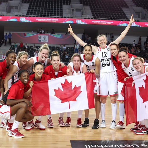 Canada make it to the Olympic Games