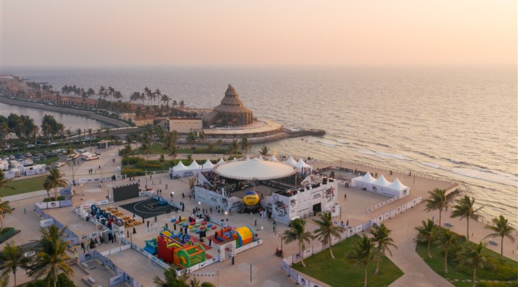 Riga Ghetto and Liman shine in iconic location on Day 1 at FIBA 3x3 World Tour Jeddah Masters