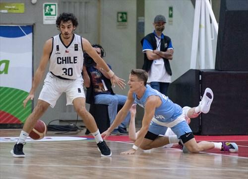 30 Diego Silva (CHI), 55 Fernando Zurbriggen (ARG)
