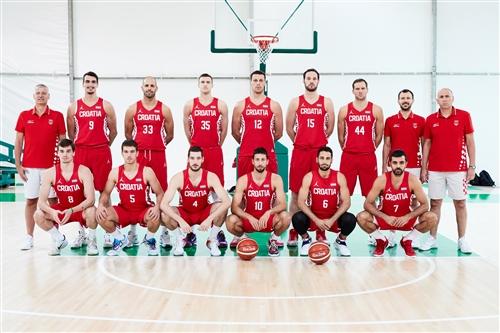 Croatia team photo