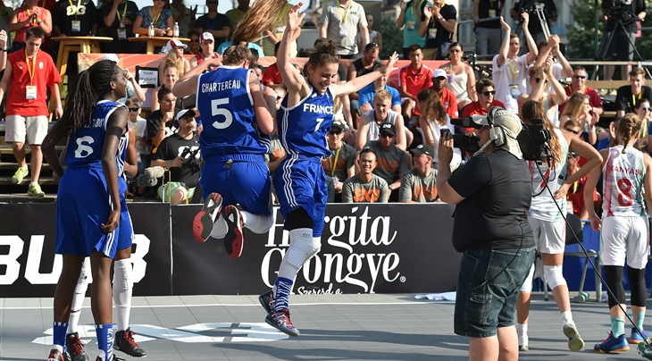 Chartereau inspired by France's memorable 3x3 U18 World Cup 2015 triumph