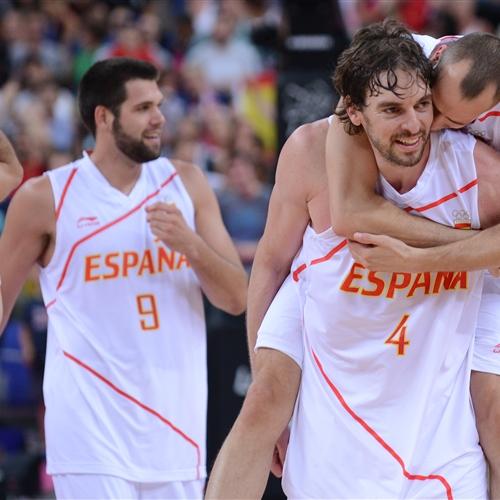Team Spain, celebration
