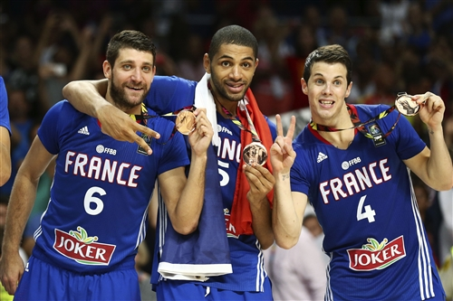 Bronze medalists (France)