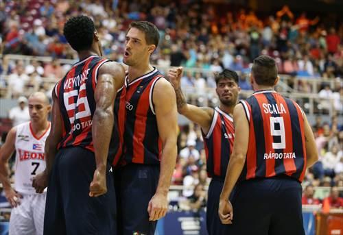 55 Jerome Meyinsse (ARG), 6 Marcos Daniel Mata (ARG)