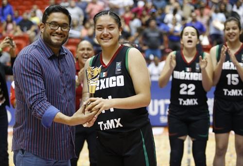 Mexico wins gold medal, MVP Irais Aguilera
