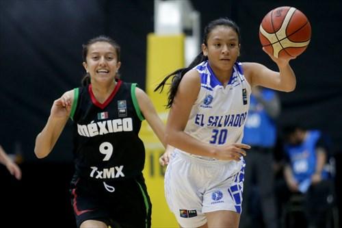 9 Elisa Rodriguez (MEX), 30 Fatima Tejada (ESA)