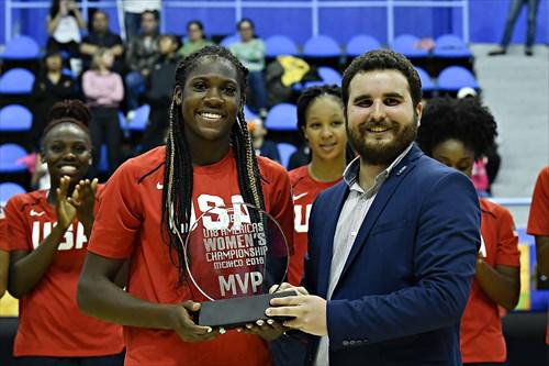 13 Rhyne Howard (USA), MVP