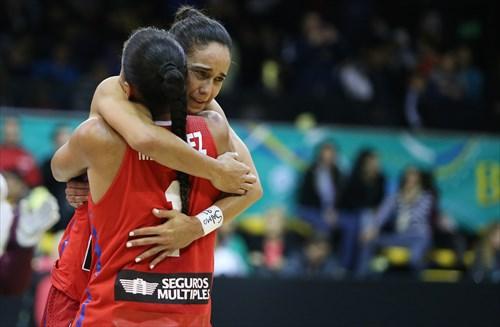 1 Tayra Melendez (PUR), 11 Michelle Gonzalez (PUR)