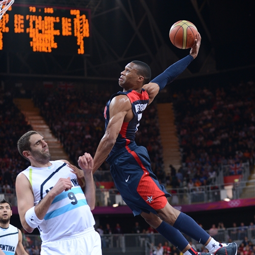 Russell WESTBROOK and his signature dunk