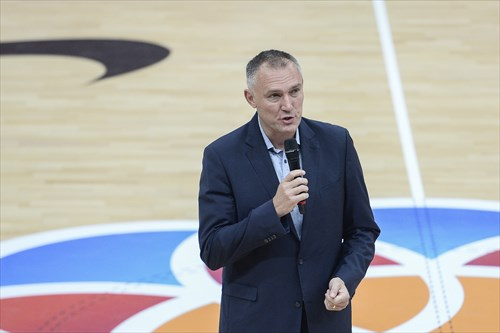 FIBA Executive Director Europe Kamil Novak