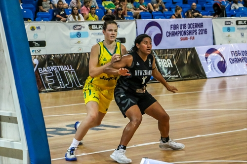 14 Kendell Mari Heremaia (NZL)