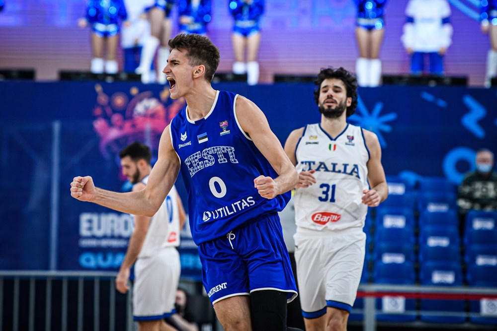EuroBasket 2022 Qualifiers – Pazza Italia, recupera 22 punti all'Estonia ma la perde al supplementare