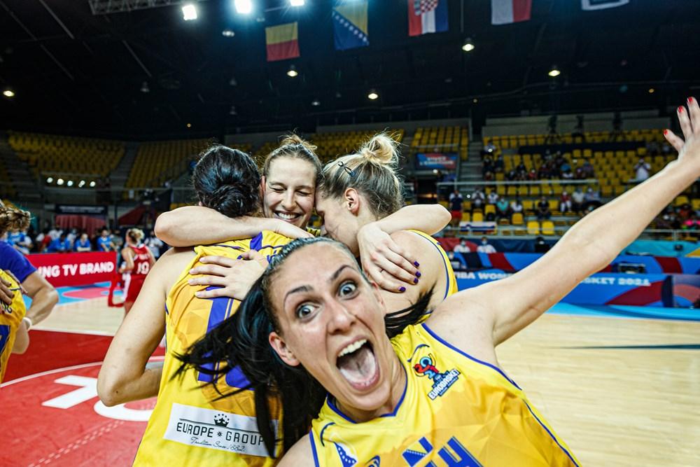 Bosnia-Herzegovina continúa haciendo historia en el Eurobasket de España y Francia