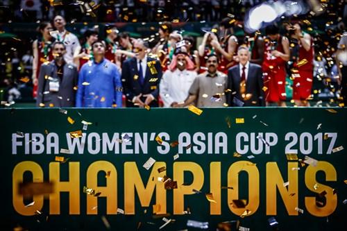 2017 FIBA Women's Asia Cup Champions , Team Japan