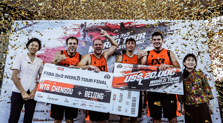 Piran win FIBA 3x3 World Tour Chengdu Masters 2017