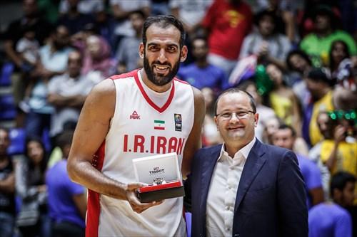 15 Hamed Haddadi (IRI)