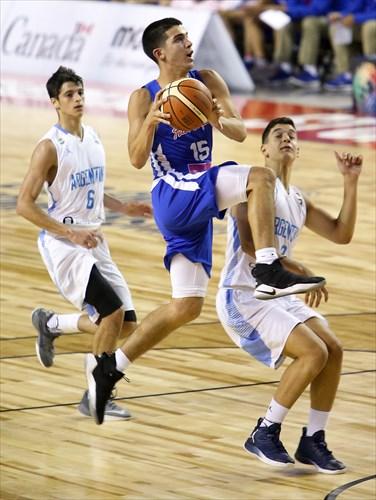 9 Marco Giordano Gnass (ARG), 6 Juan Ignacio Marcos (ARG), 15 Jose Carlos Placer Diaz (PUR)