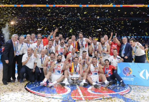 EuroBasket 2015 Winners - Spain
