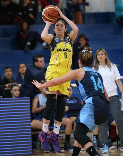 Laura Cors (ARG), 14 Florencia Chagas (ARG), 8 Laura Ayala (COL)