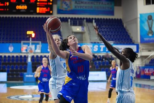 97 Elizaveta Shabanova (D.K.), 6 Natasha Howard (D.K.), 10 Megan Gustafson (VBW)