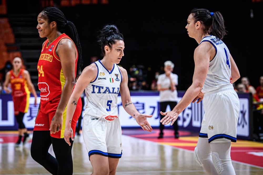 EuroBasket Women 2021, buona la seconda per l'Italia che batte il Montenegro 77-61