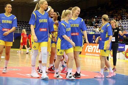 4 before match fotos Sweden Montenegro den 17 nov 2019 foto Senad Honic foto 10a