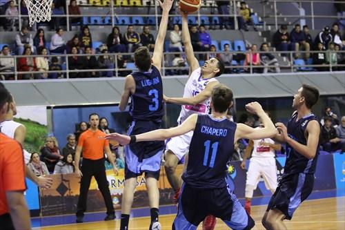 3 Bautista Lugarini (ARG), 10 Andre Curbelo (PUR)