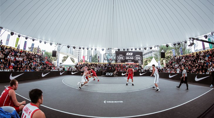 A new official court for FIBA 3x3 after Enlio global deal