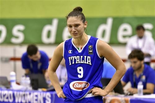 9 Cecilia Zandalasini (ITA), ESP vs ITA