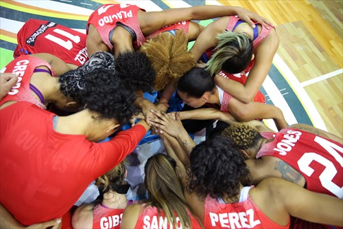 Puerto Rico Pray After Win