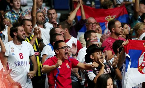 Fans Serbia