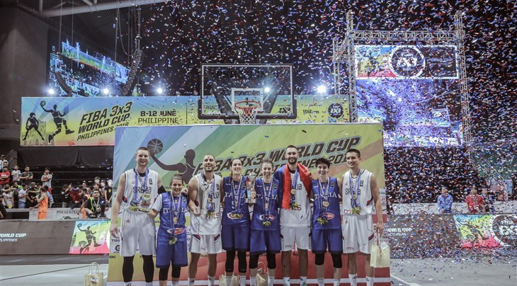 Serbia and Italy win FIBA 3x3 World Cup 2018