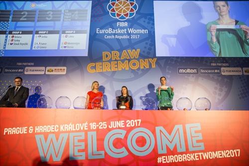 FIBA EuroBasket Women 2017 Draw Ceremony