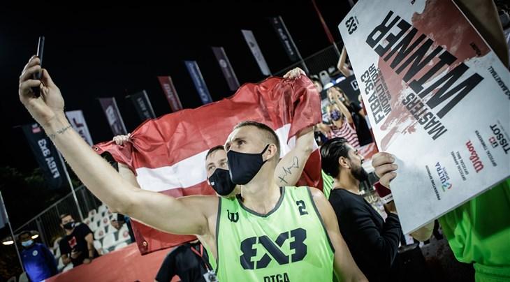 Miezis named FIBA 3x3 World Tour Doha Masters 2020 MVP