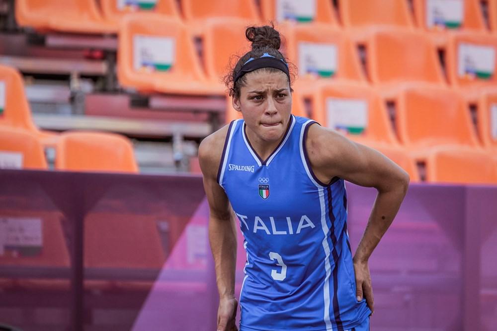 Tokyo 2020, 3×3: terzo ko nel girone, l'Italia perde contro il Giappone 22-10